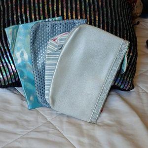 Handbags - 4 light blue Ipsy bags